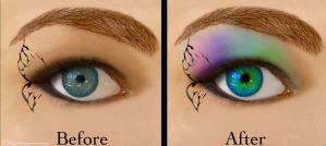 Google eye before and after by sexfeind