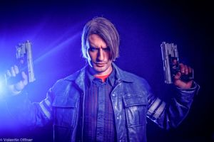 Leon S. Kennedy - Resident Evil 6 Cosplay by Leon by LeonChiroCosplayArt