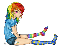 Request for Mialavia~ Rainbow Dash by Audreyfan1001