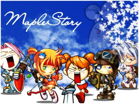 MapleStory Wallpaper by BomberZ