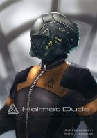Helmet Dude 19 by Nero-tbs