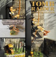 Young Lara Croft - The Last Revelation Papercraft by Noemie-in-Art
