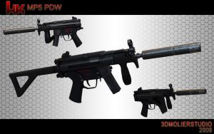 MP5-PDW by kvor