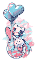 I Love Mew! by crayon-chewer