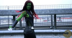 Gamora by AlyTheKitten