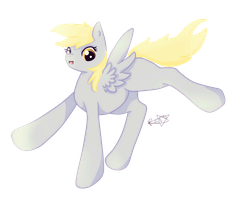 They see me derping they hating . Derpy by Rorosaur