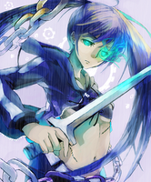 Black Rock Shooter by tosiri