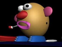 Mr Potato Head by davilesdesigns