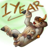 1 Year Anniversary by SkinsT