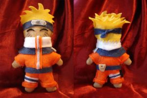 Naruto plushie by AndreaOfTheLand