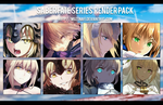 Saber fate series render pack by Muztnafi