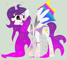 Hearts Lillymoon, Captain of the Crystal Guards by Discordiscoolio