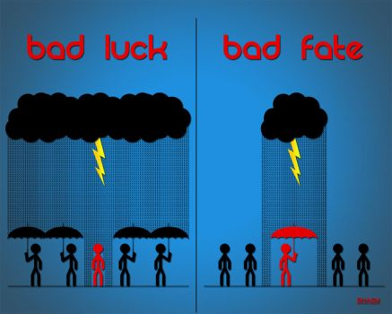 Luck vs. Fate Wallpaper Pack by shady06