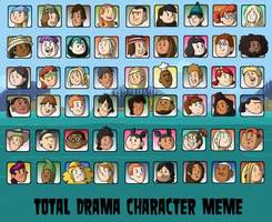 Top 54 Total Drama Characters by ToonYoungster
