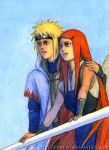 Minato and Kushina by Umaken