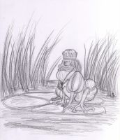 The Frog King by ThroughMyThoughts
