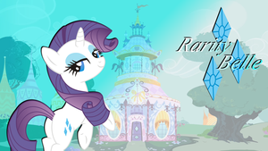 Rarity Belle wallpaper [Updated] by PureZparity
