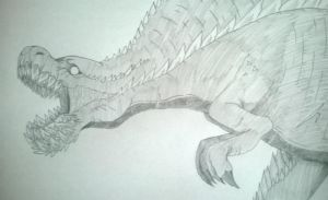Attempt Drawing: Deviljho by Yukimaru-kun