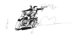 Little Punisher sketch by Max-Dunbar