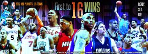 2012 NBA Playoffs Facebook Cover by YaDig