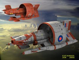 AIR RACERS 1948 by CUTANGUS