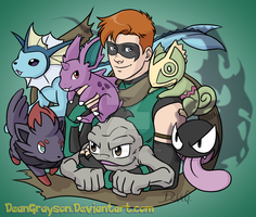 Weaver's pokemon by DeanGrayson