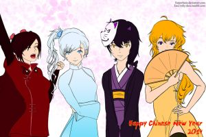 RWBY - Chinese New Year 2014 by Essynthesis