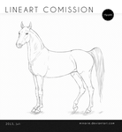 lineart commission: 2 by Minarie