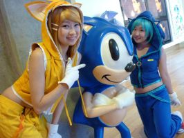 Vocaloid: Sonic + Tails by gya-inc
