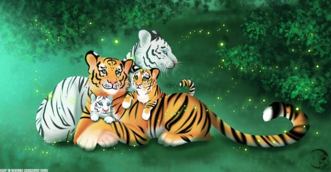 .:TigerFamily:. by iKacte