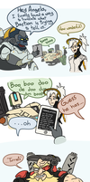 Overwatch Comic: Automatic Defense Mechanisms by Lukidjano
