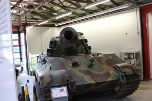 The mouth of a Tiger II. by Liam2010
