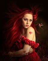 Vermilion by PaperDreamerArt