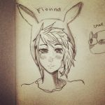 Fionna sketch by torokismu