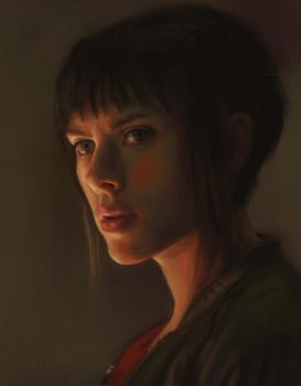 Ghost In The Shell Portrait by Vimes-DA