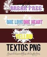 3 TEXTOS PNG by TransilvaniaEditions