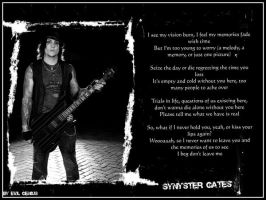 Synyster Gates Wallpaper by Mishu-Evil-Genius
