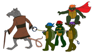 Turtle Tots Go Exploring by MommaCabbit