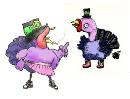 Turkies by rosyrockets
