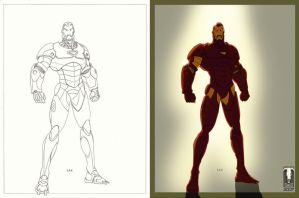 Ironman - Colors by Juggertha