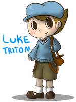 Luke Triton by Caramelcat123
