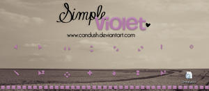 Simple Violet Cursor by Candush