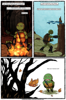 Mind Of A Leader Page 2 (IDW TMNT Fan-comic!) by PowderAkaCaseyJones