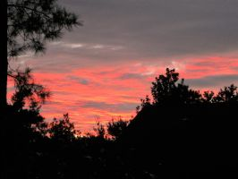 Red sky at night, sailor's delight by InterestinglyBoring