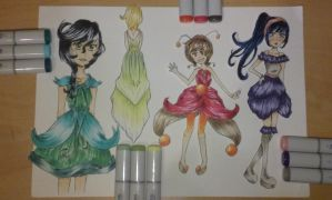 Dress outfits by ZNsnowbell4