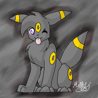 The Lil Umbreon by cannibalqueen