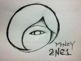 Minzy from 2NE1 by kinnesama