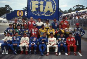 Drivers Group Photo (Australia 1993) by F1-history