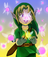 Young Link by LadyLore3