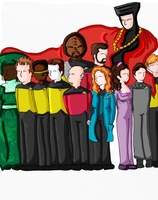Star Trek: TNG ::DIGITAL:: by Seamonkey-Sama